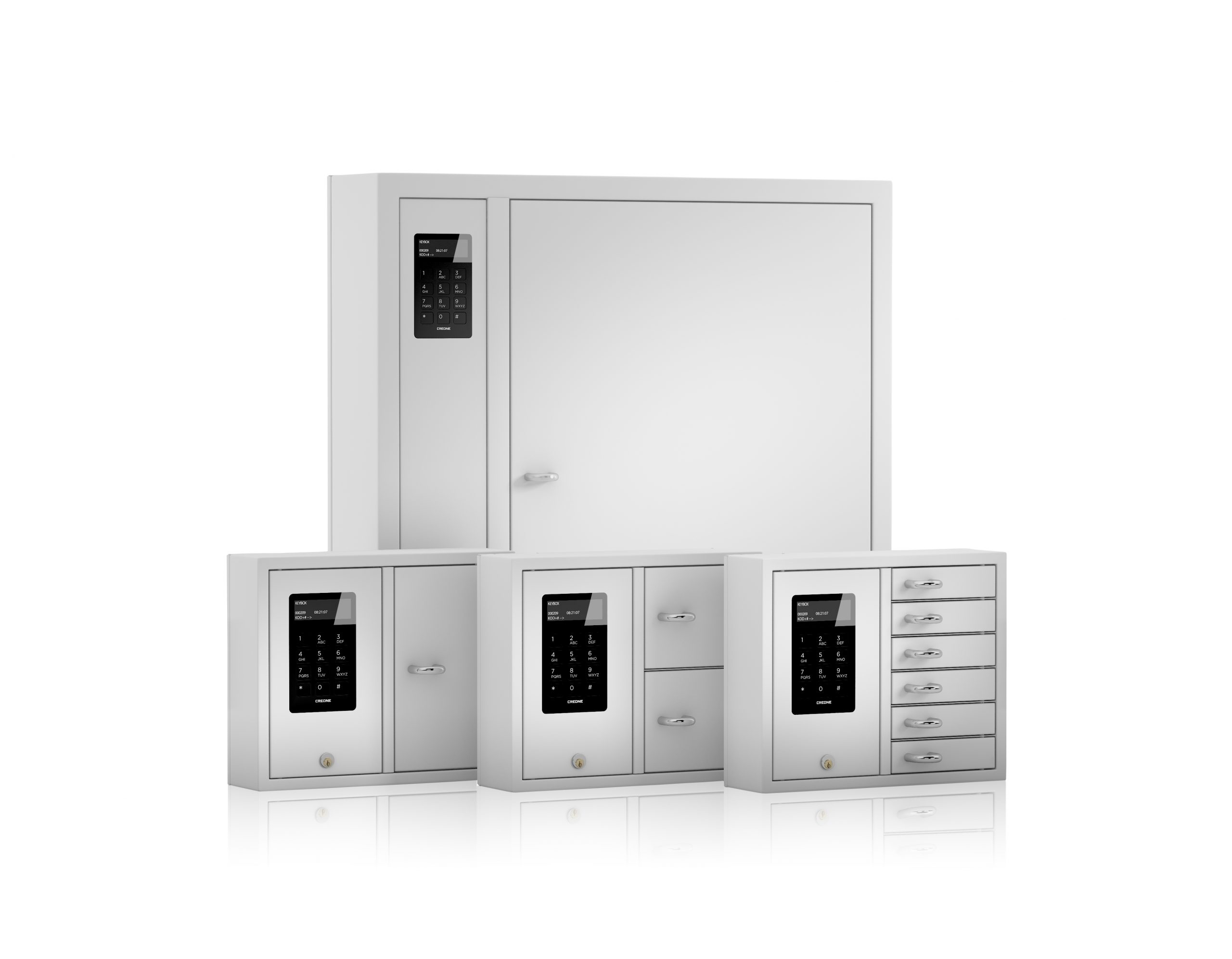 Kleineres Gruppenbild für KeyBox-Schlüsselschränke der Serie System