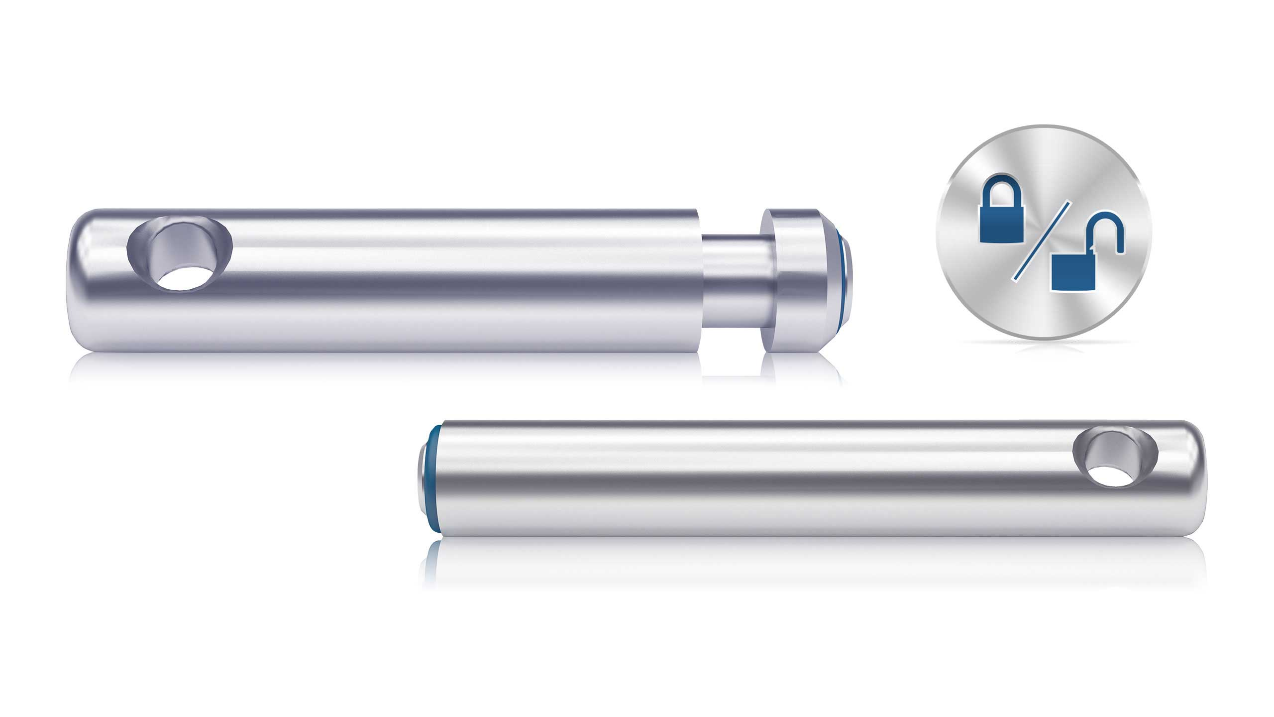 Nicht verriegelte IntelliPin-Schlüsseltransponder lösen einen Alarm aus, sobald Schlüssel aus Schlüsselschränken entnommen werden.