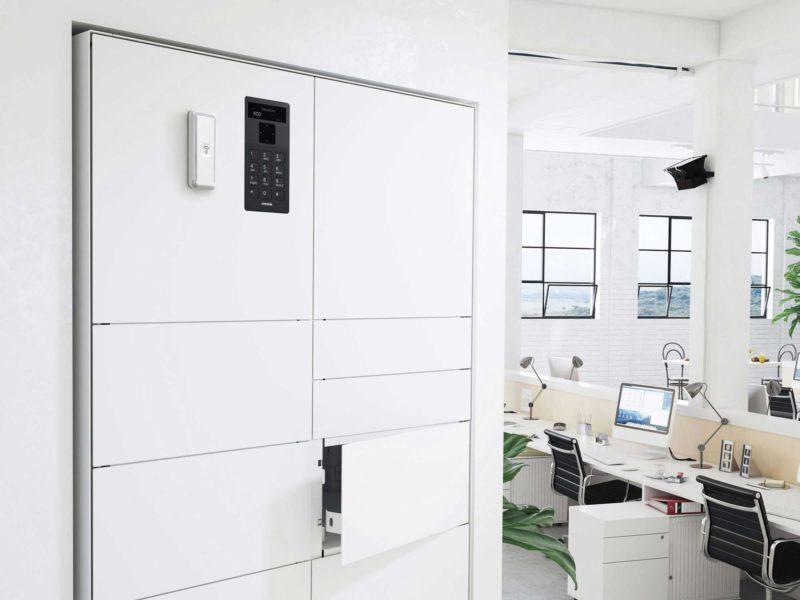 ValueBox Wertschrank der Serie Control in Büroumgebungen