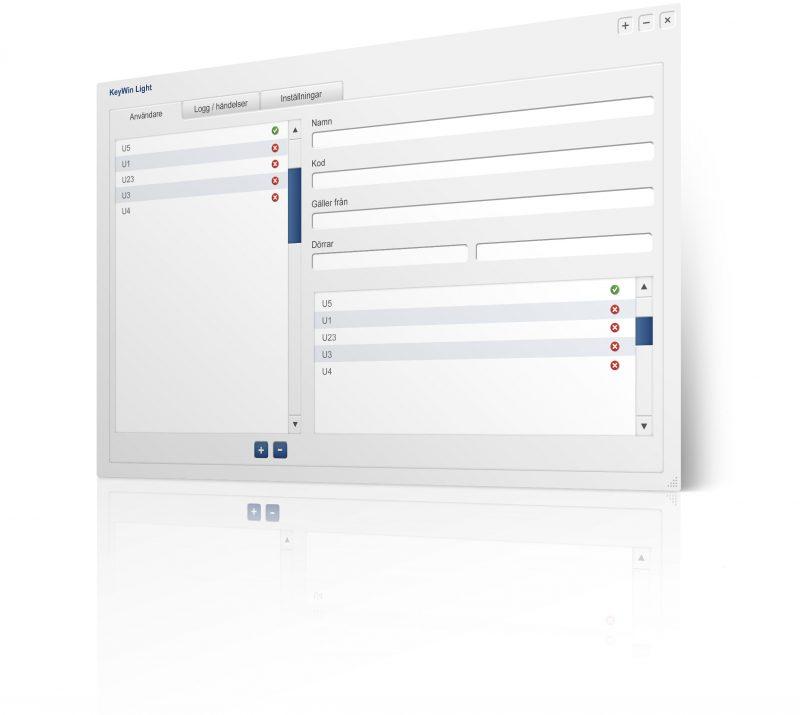 Kleineres Bild der Schlüsselverwaltungssoftware KeyWin Light